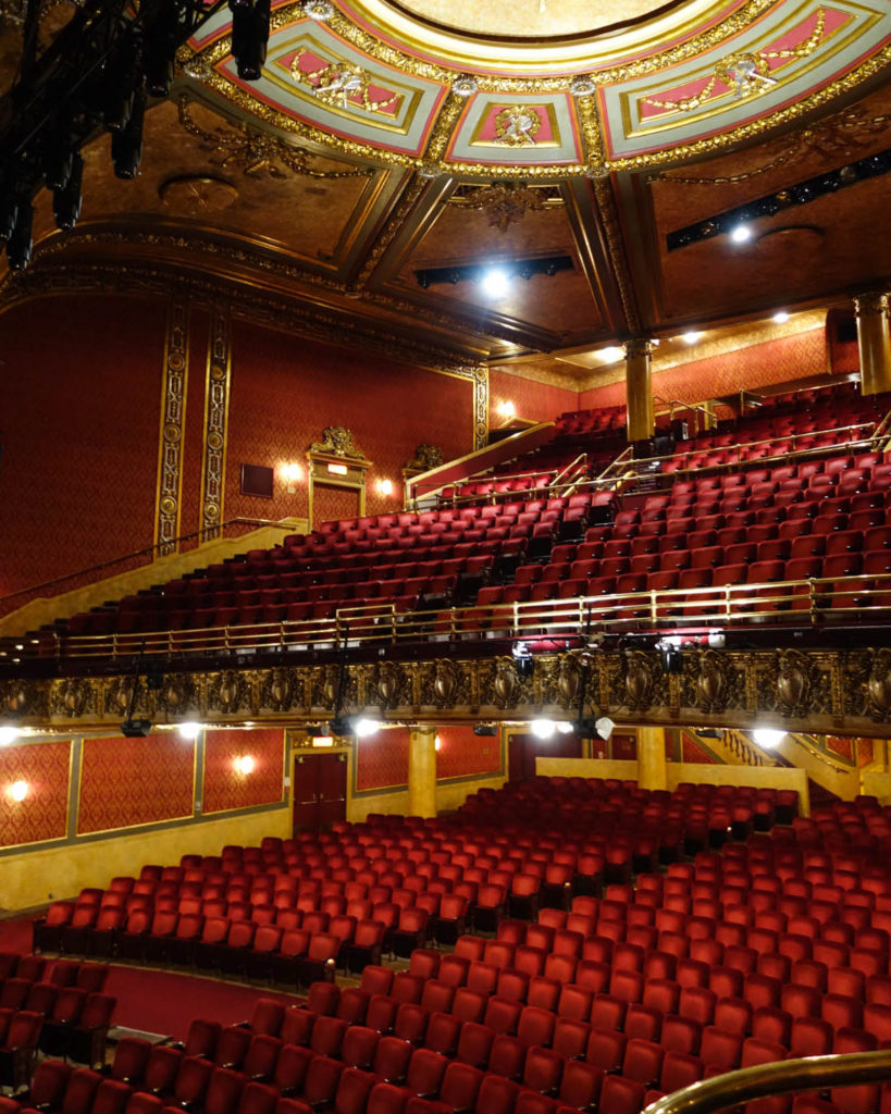 Elgin and winter garden theatre centre theatre loon - Winter garden theater seating chart ...
