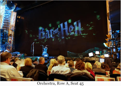 Orchestra, Row A, Seat 45