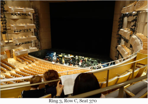 Ring 3, Row C, Seat 370